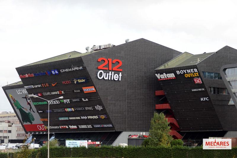 اوت لت 212 استانبول در مرکز شهر و قسمت اروپایی