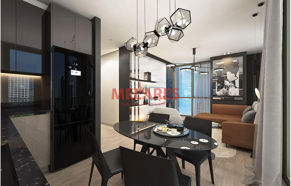 Modern apartment in European side of istanbul