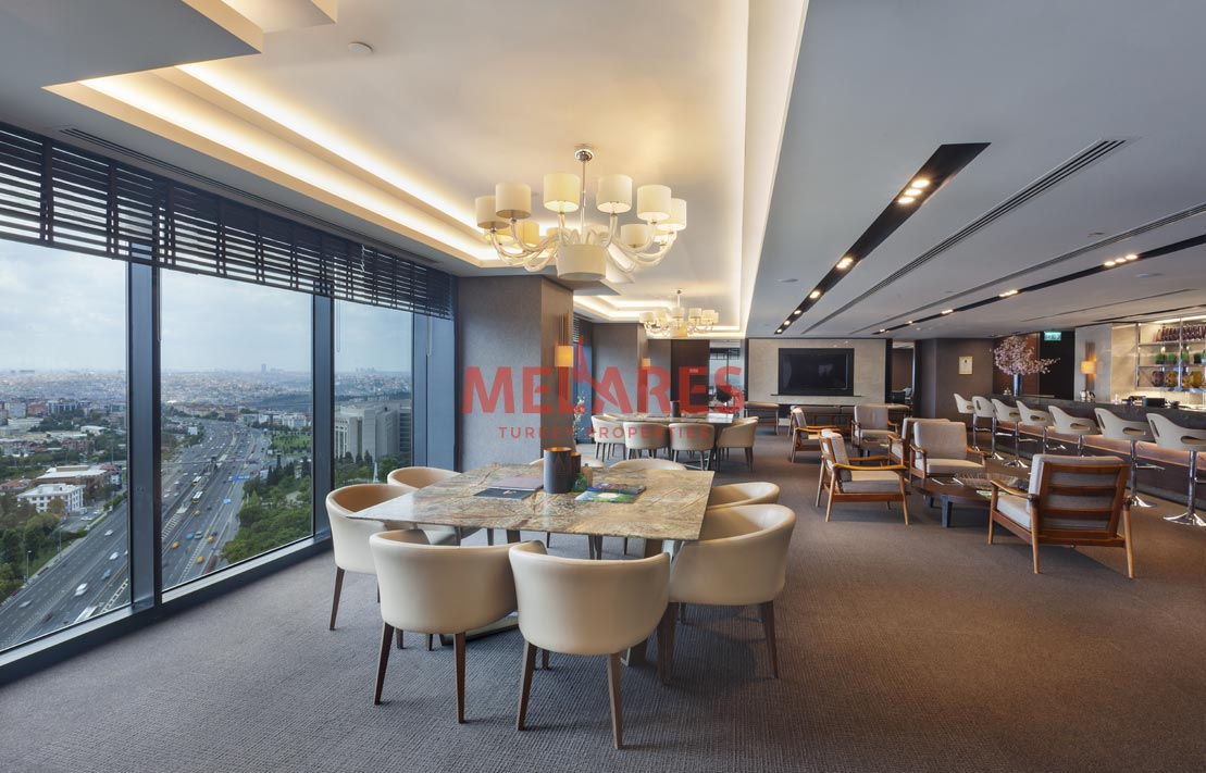 Office for Sale with High Investment Value in Sisli Istanbul