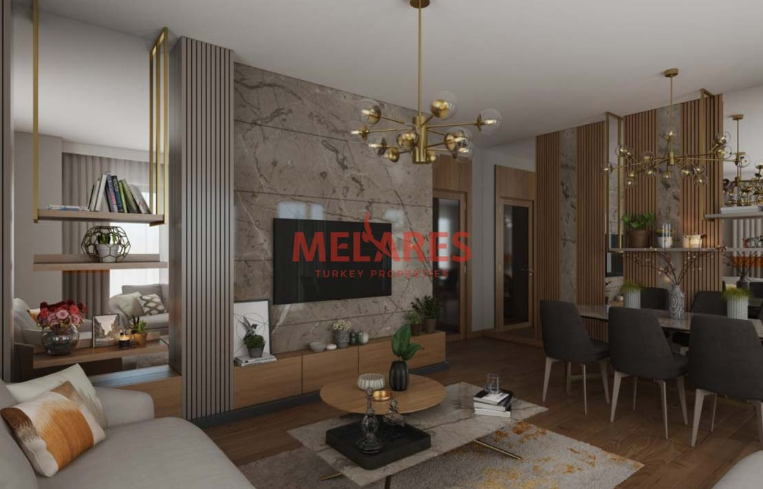 Astonishing Four Bedrooms Duplex Apartment in the Heart of Bahcesehir