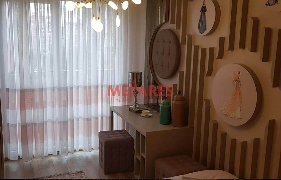 Beautiful Three Bedrooms Apartment with a Special Garden in Beylikduzu