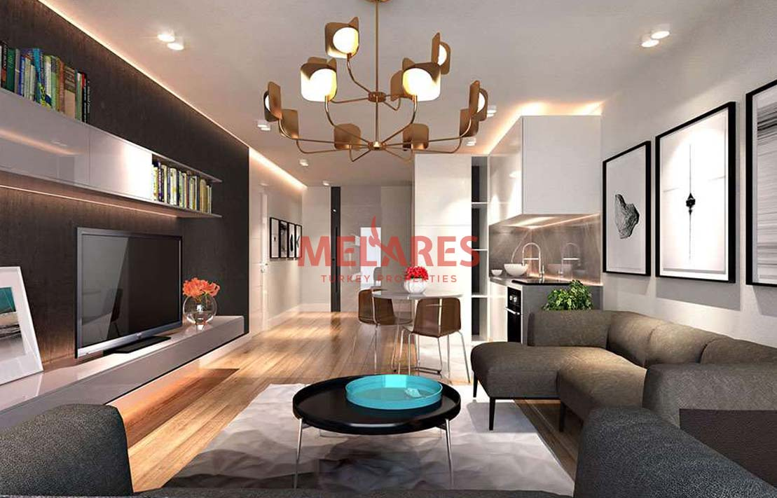 Beautiful Two Bedrooms Duplex House for Sale in Istanbul