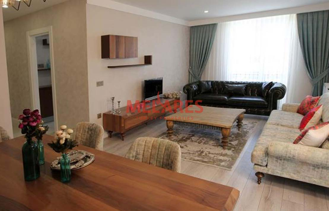 Apartment with American Style Kitchen in Istanbul Beylikduzu