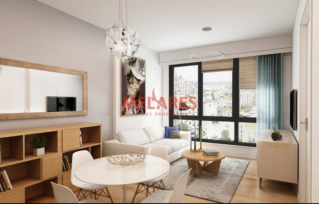 Charming Duplex Apartments For Sale in Istanbul With Big Terrace