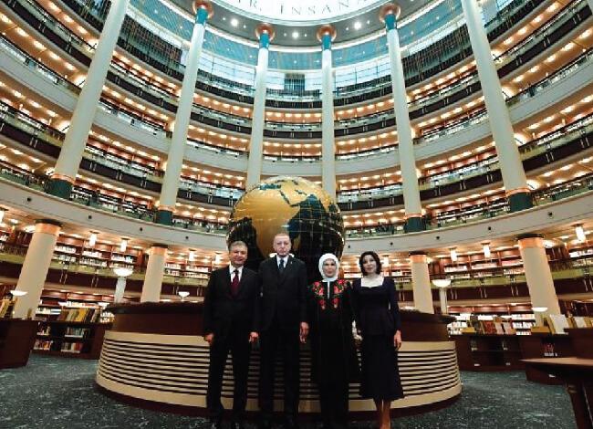 کتابخانه ی ملی اولین و بزرگترین کتابخانه ترکیه