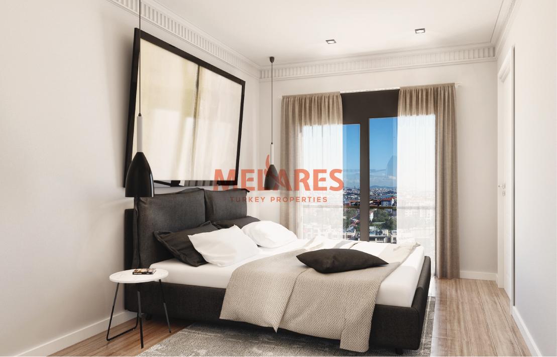 2 Bedrooms Luxurious Apartments in the Peaceful Atmosphere of Eyupsultan