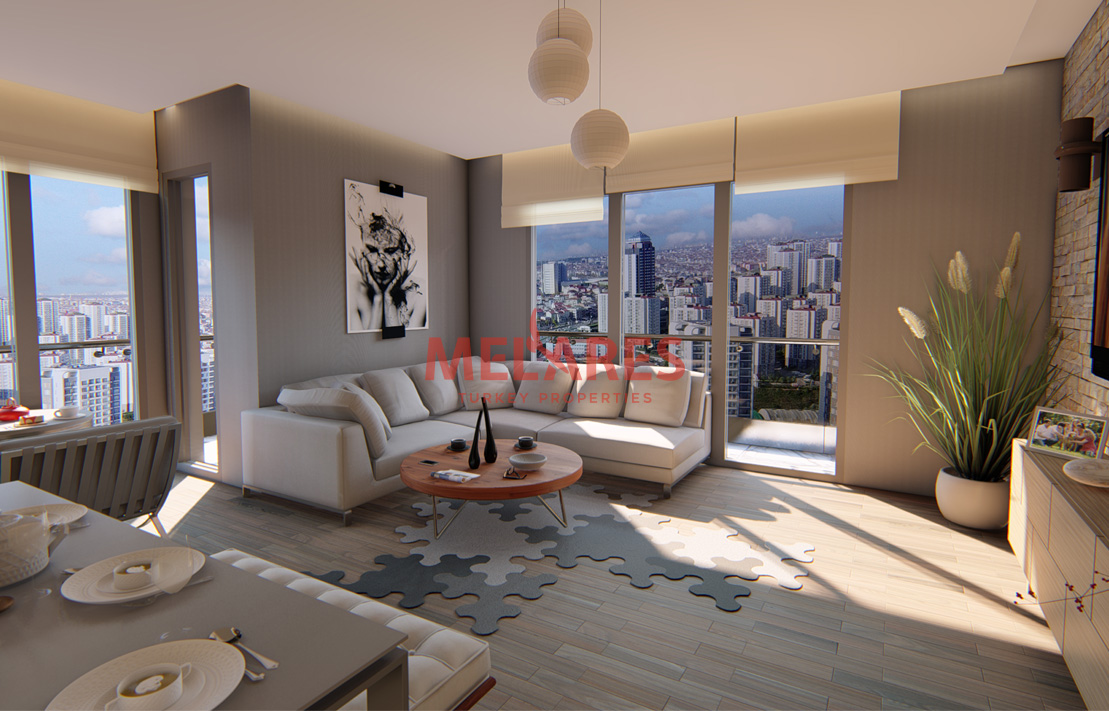 Property For Sale in Istanbul with an Elegant Interior