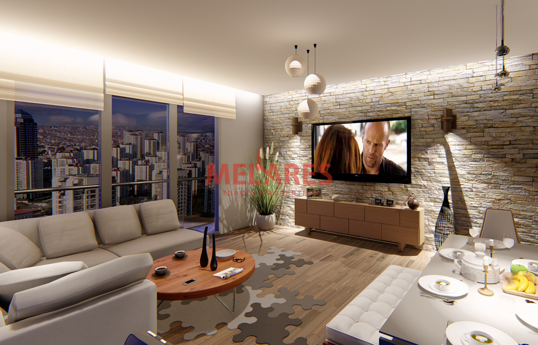 Modernly Designed 2 Bedrooms Apartment