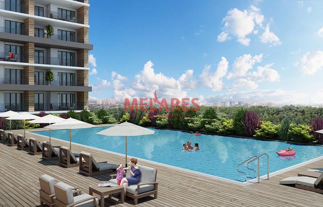 Spacious Flats with Balcony in Esenyurt Istanbul