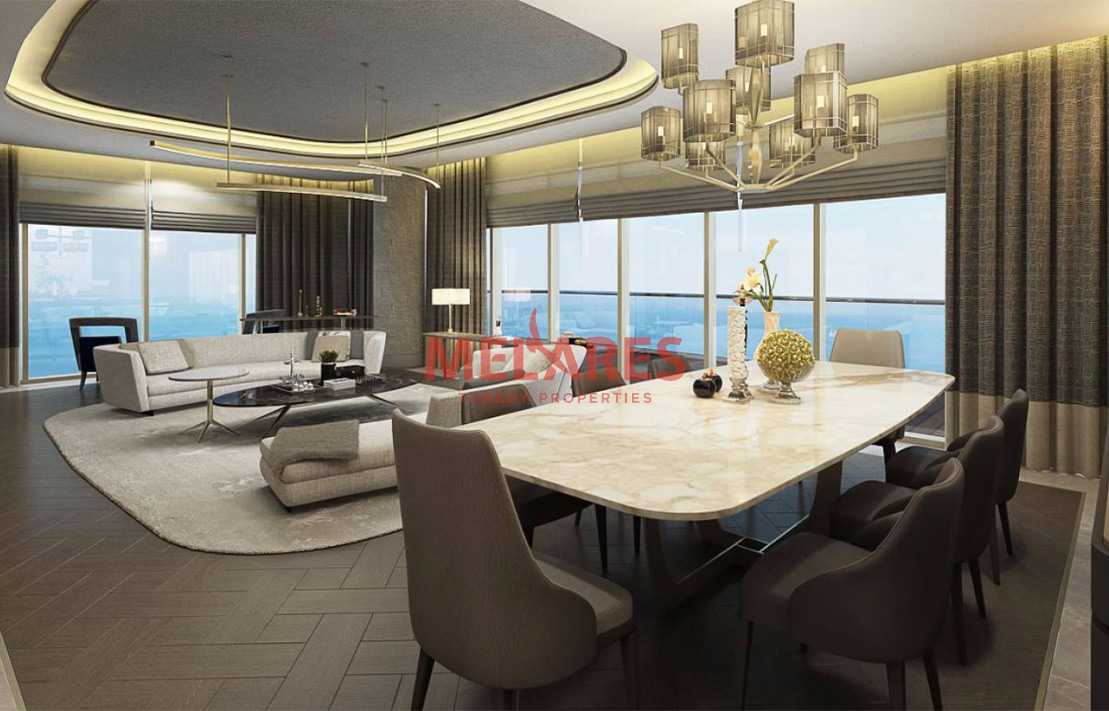 Istanbul Apartment with Sea Veiw and Great Living Space