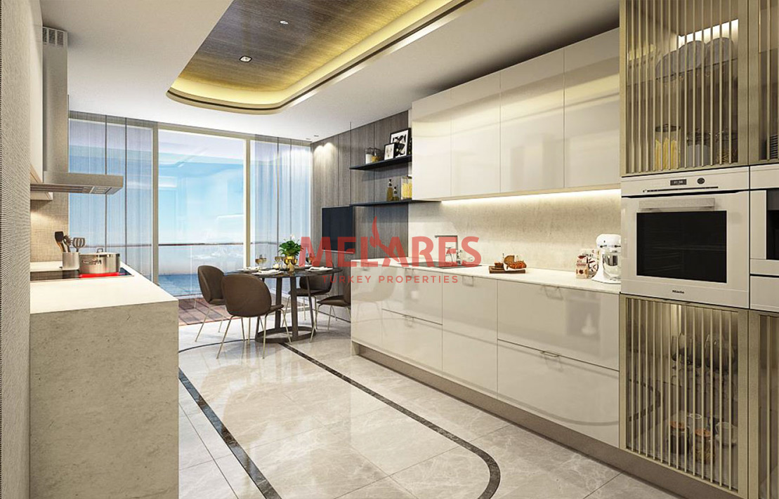 Apartments for Sale Overlooking the Sea in Istanbul
