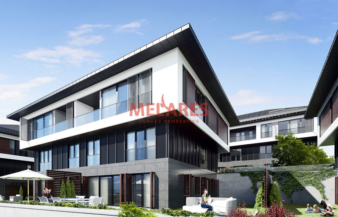 3 Bedrooms Duplex Apartment with Perfect View of Istanbul