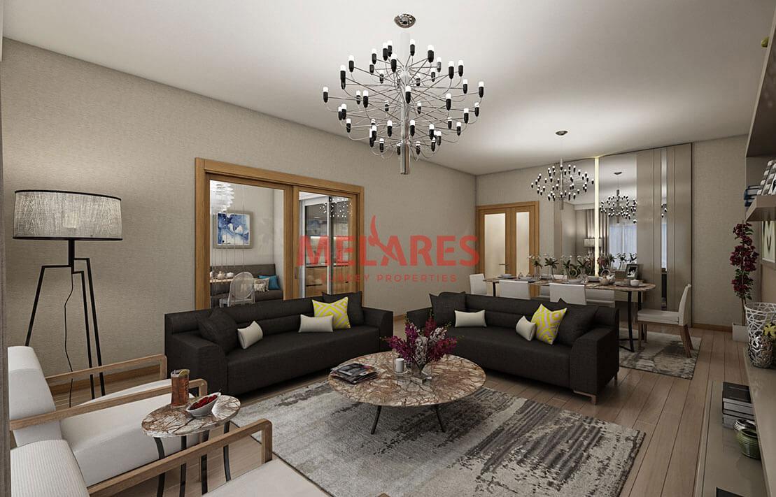 3+1 Flat For Sale in Basaksehir, Cash or Installments
