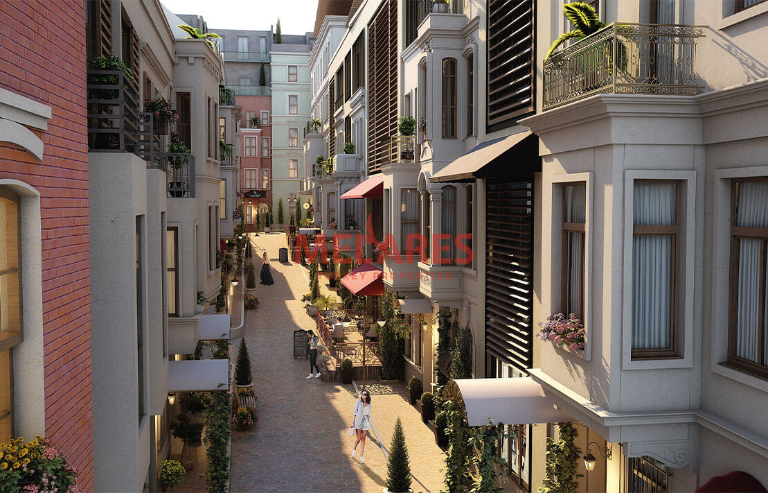 House for Sale with  Stunning İnterior Design in the Beyoglu Istanbul