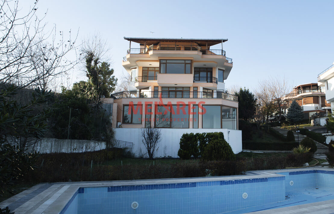 A Magnificent Villa life with Stunning full View of Sea in Avcilar Istanbul