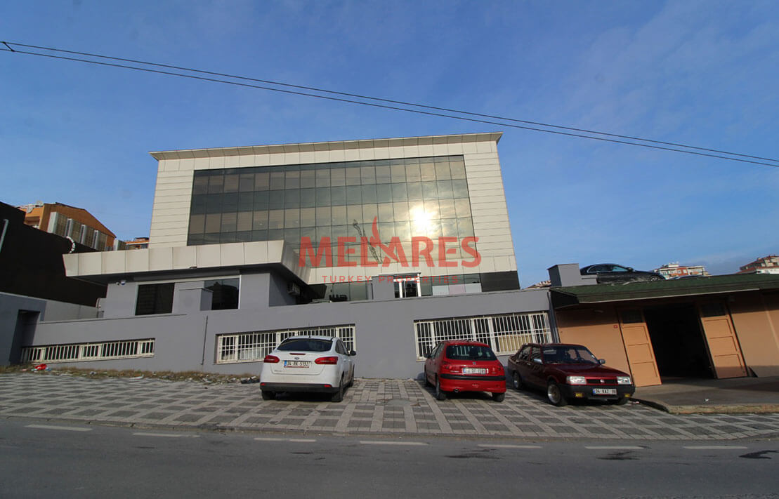 Unprecedented Commercial Factory for Sale in Umraniye Istanbul