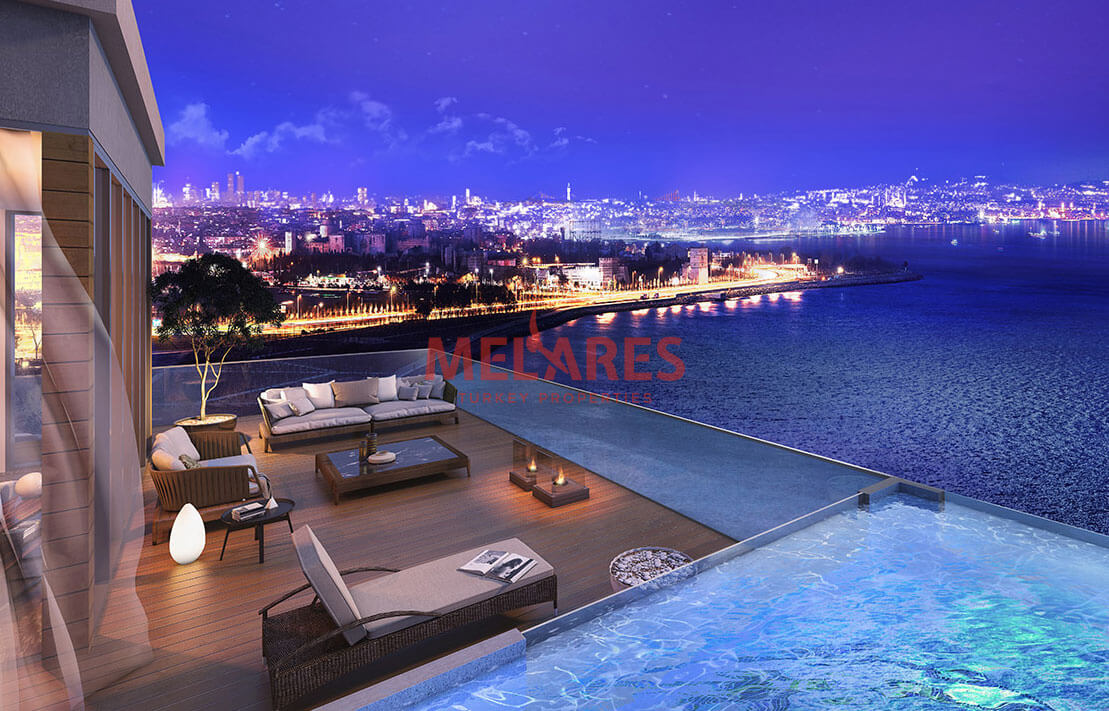 Boast of  magnificent view of sea in 1 Bedroom Apartment in Istanbul