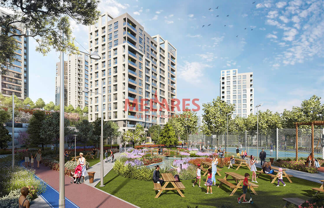 Apartments for Sale Built Under the Guarantee of the Government in Istanbul