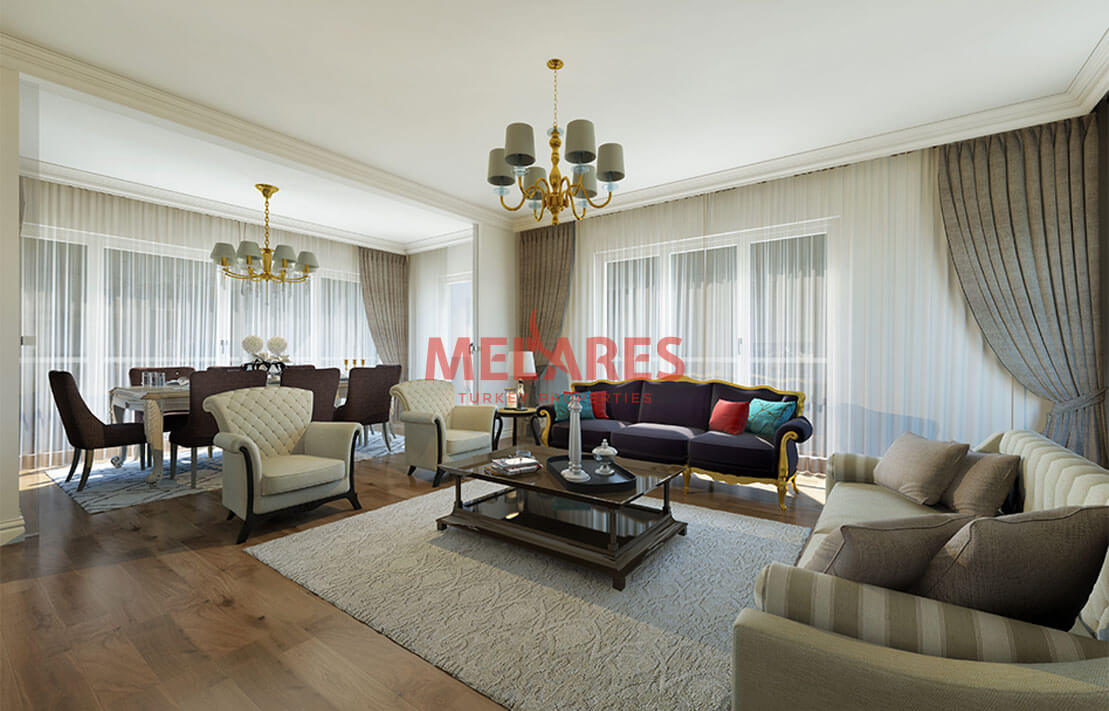 House for Sale with Magnificent Architecture Near to the IST Airport