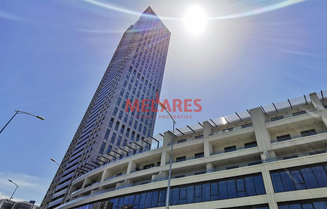 Buy a house in the best Sariyer tower and a window into the economic arm of Istanbul's Levent