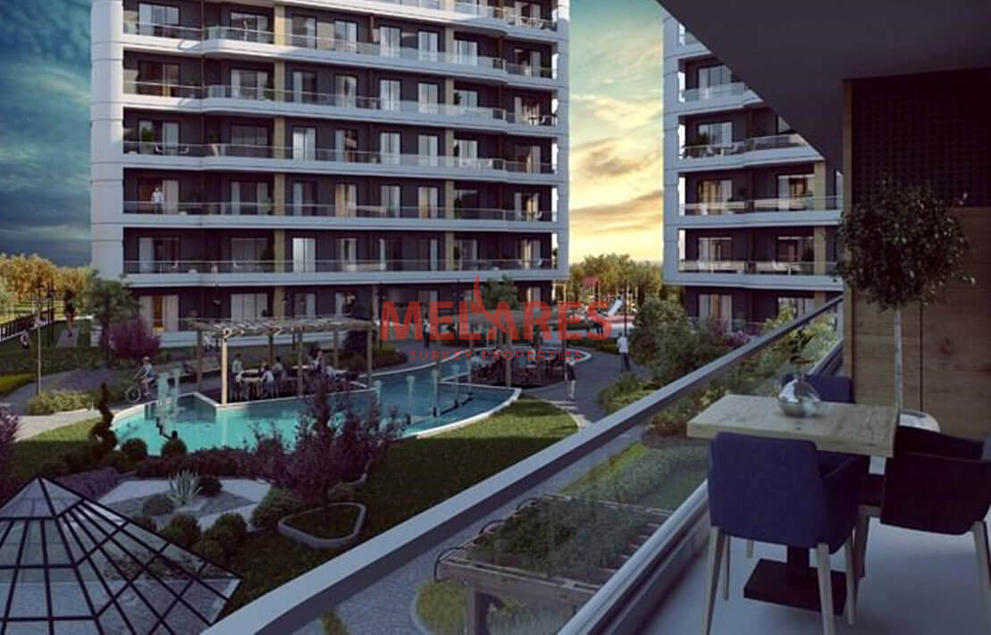 Apartment for Sale with Sea View in the Istanbul