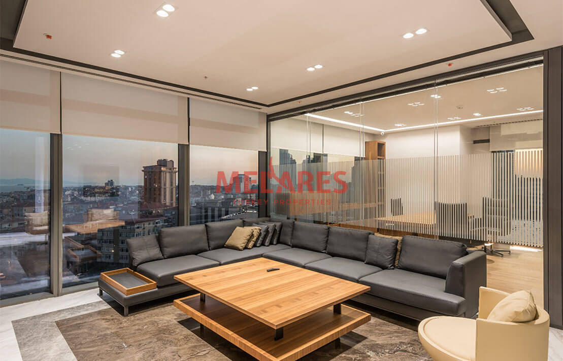 Property for Sale in Istanbul with Double-sided View