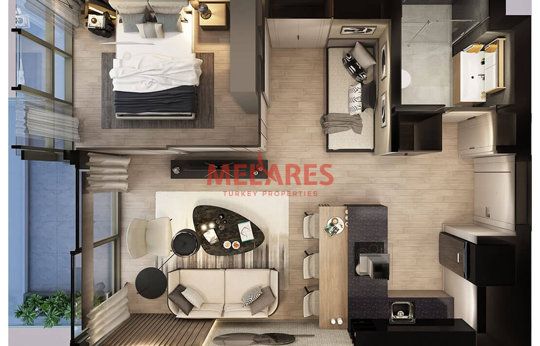 Luxury and comfortable apartment in istanbul