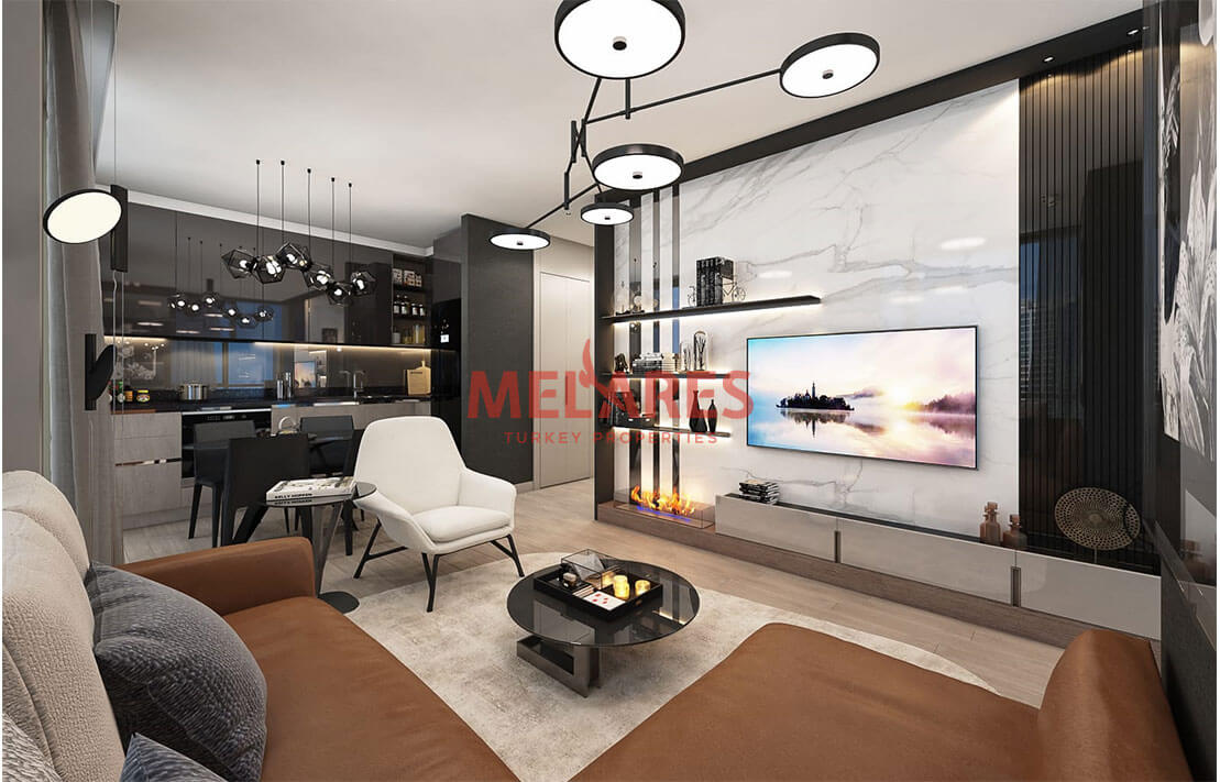 Luxury and Modern Life in Istanbul Sariyer