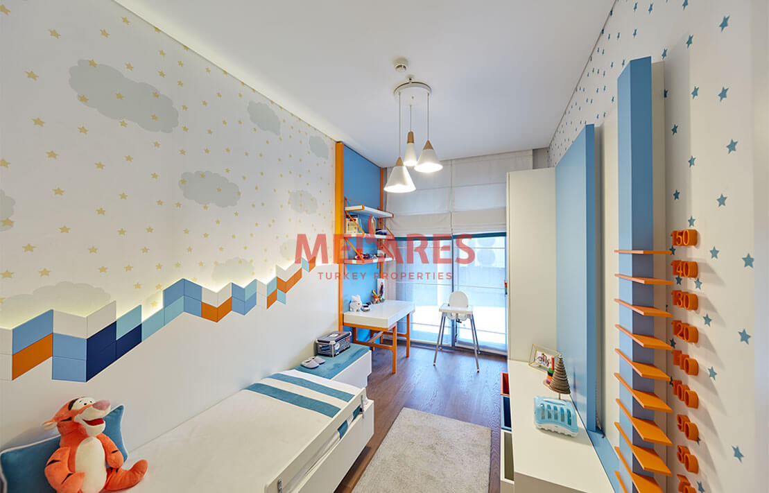 Exceptional Charm in Double-sided Corner Apartment in the Istanbul