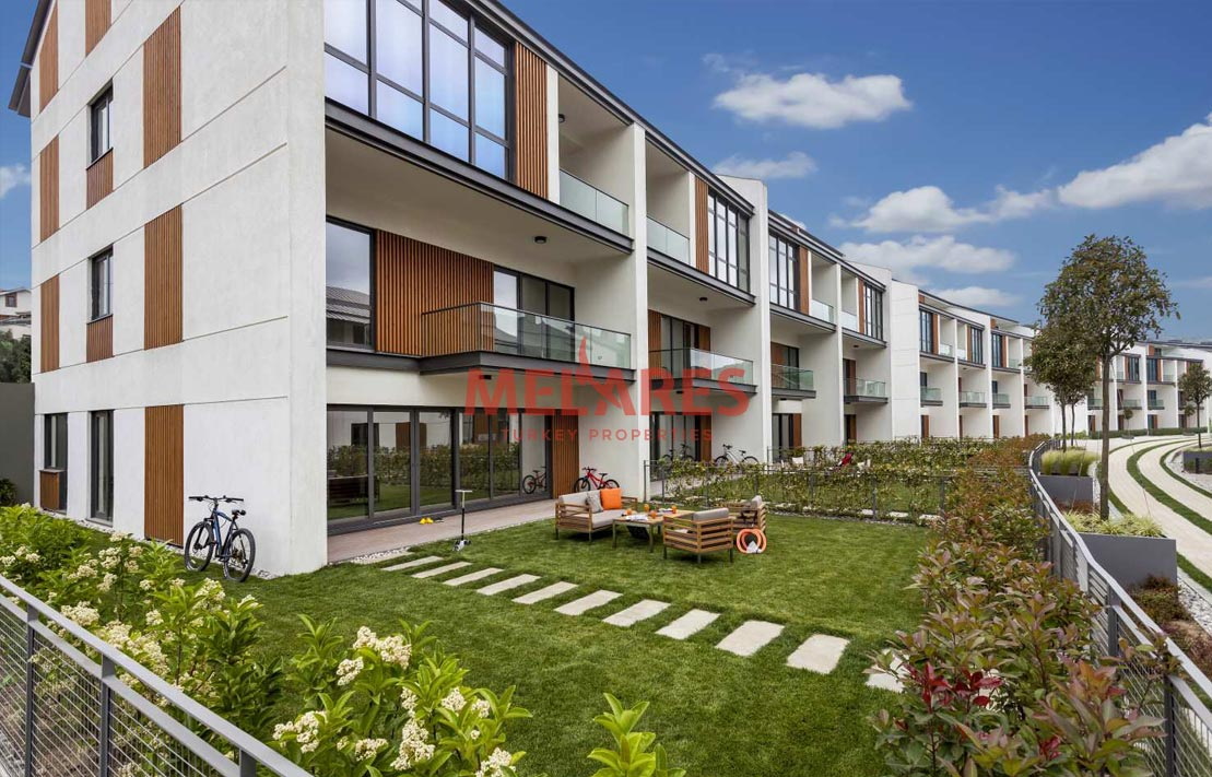 Obtain Turkish Citizenship with buying Terrace Duplex Apartment in Istanbul