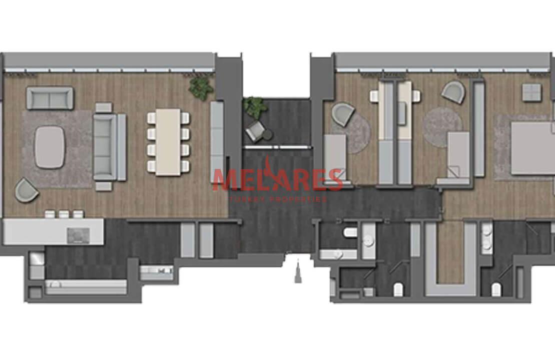 Luxurious Flat in Nisantasi