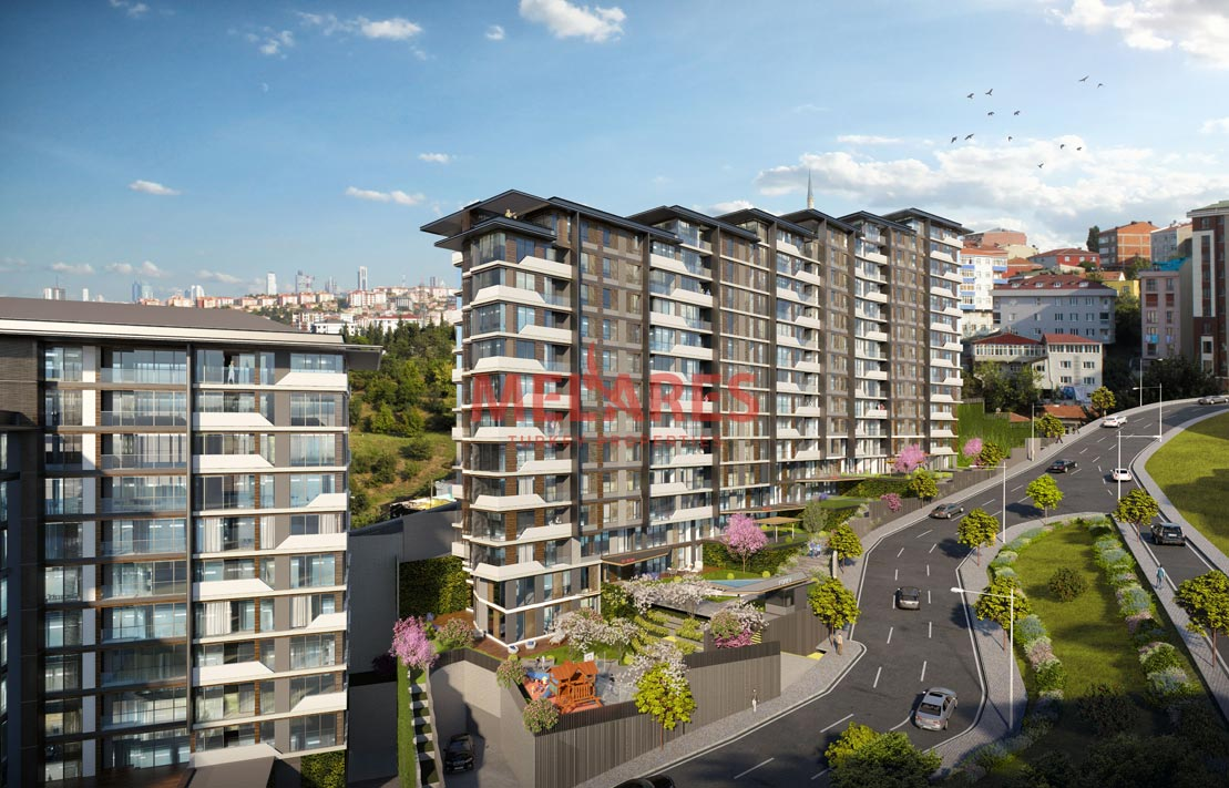 Luxury Garden Duplex apartment for Sale in Istanbul