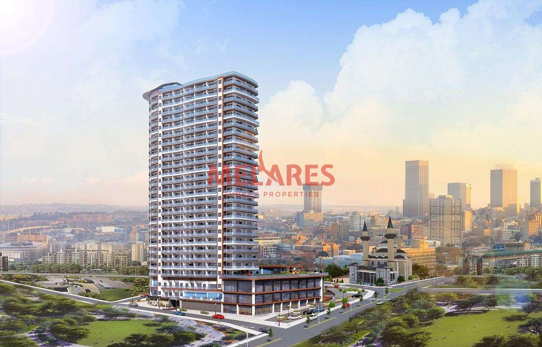 North Facade Apartment for Sale in Esenyurt Istanbul