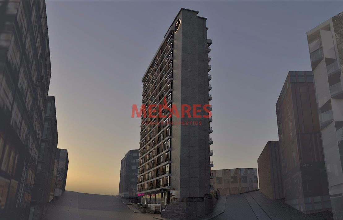 Apartment for Sale in Istanbul with High Rental Income in kagıthane Istanbul