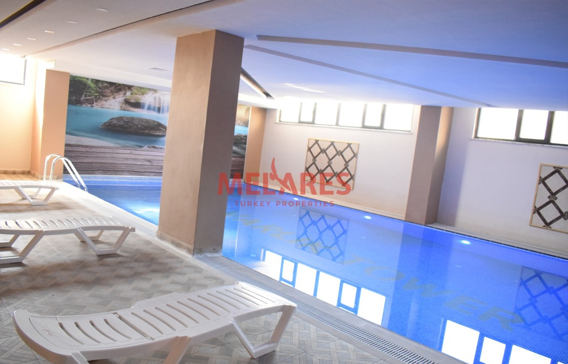 One Bedroom Apartment for Sale in the Most Active Business Region in Istanbul