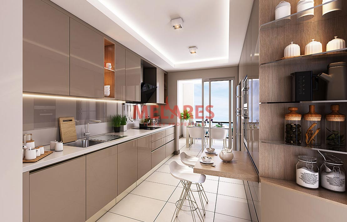 An Elegantly Designed Apartment for Sale Appropriate for Turkish Citizenship