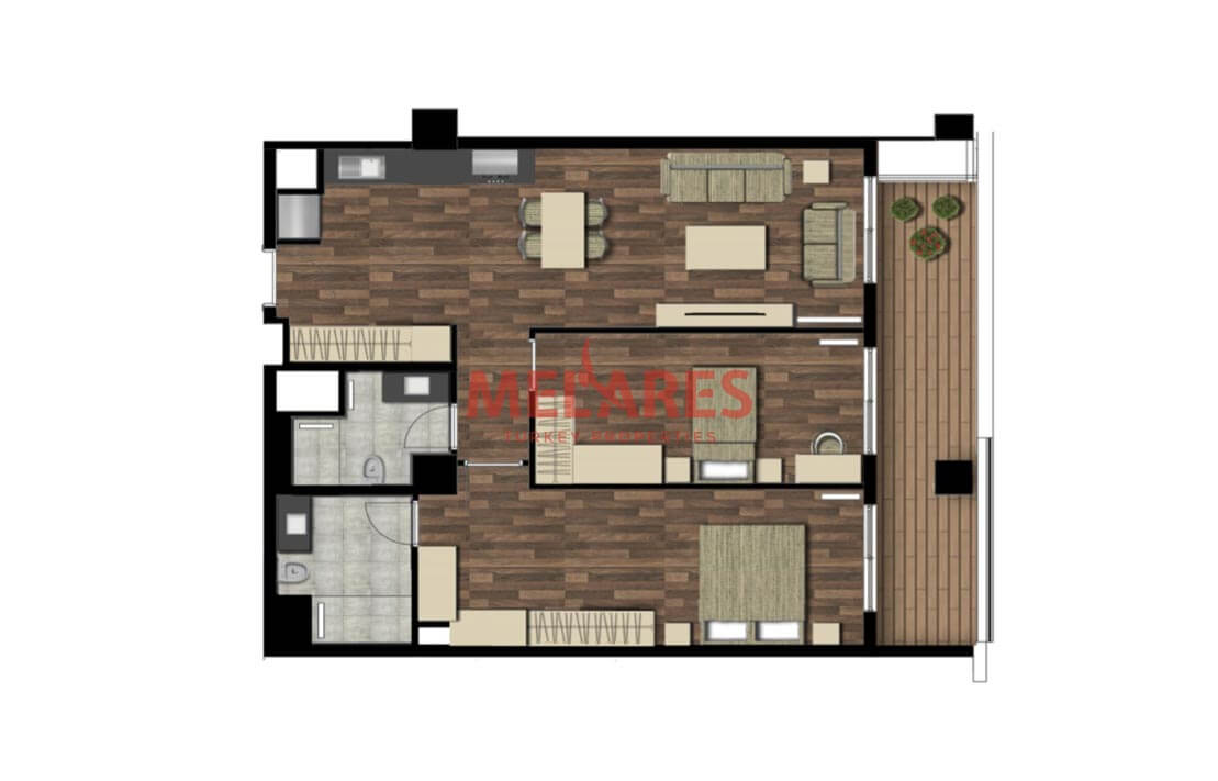 Apartments For Sale in Istanbul European Side Near Belgrad Forest