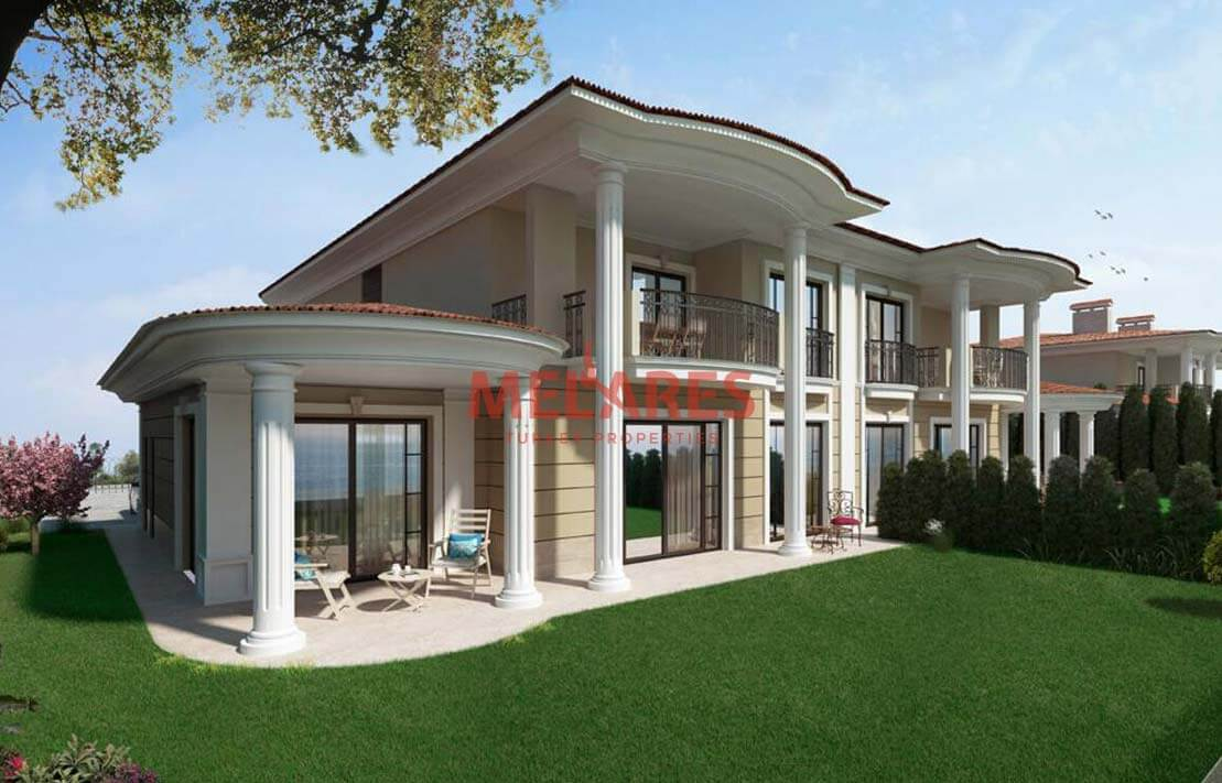620 Sqm Detached Triplex Villa Designed with Stylish Details