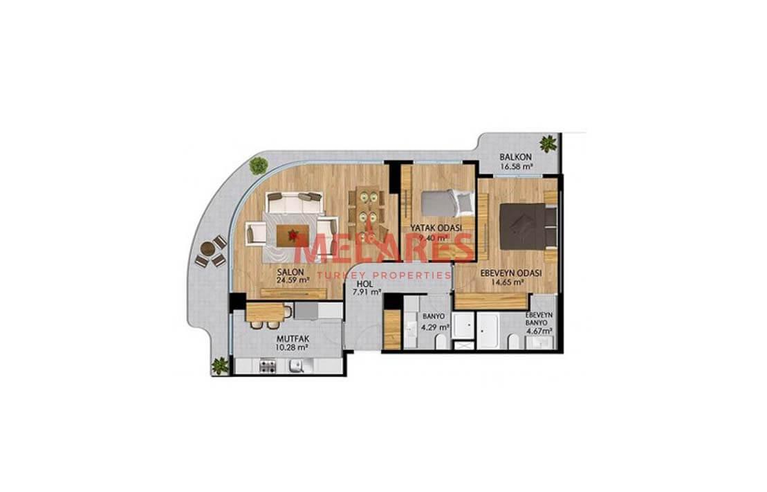 Ultra-Luxurious Real Estate in Turkey Available in Beylikduzu