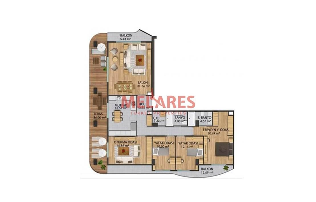 Beylikduzu Urban Apartments in Istanbul with Many Facilities