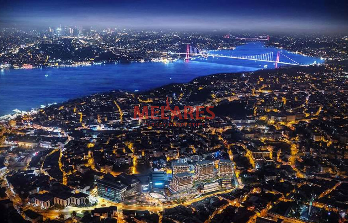 Apartment for Sale with Exclusive Architecture on the Asian Side of Istanbul