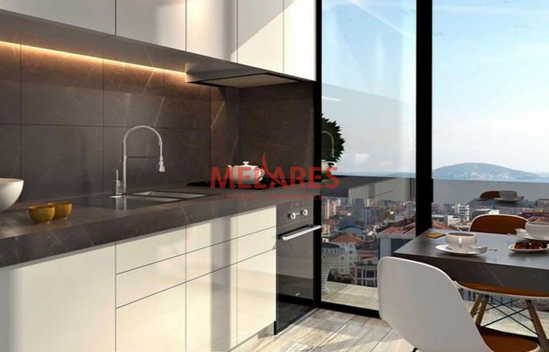 Luxury Apartments Near Sea in Istanbul