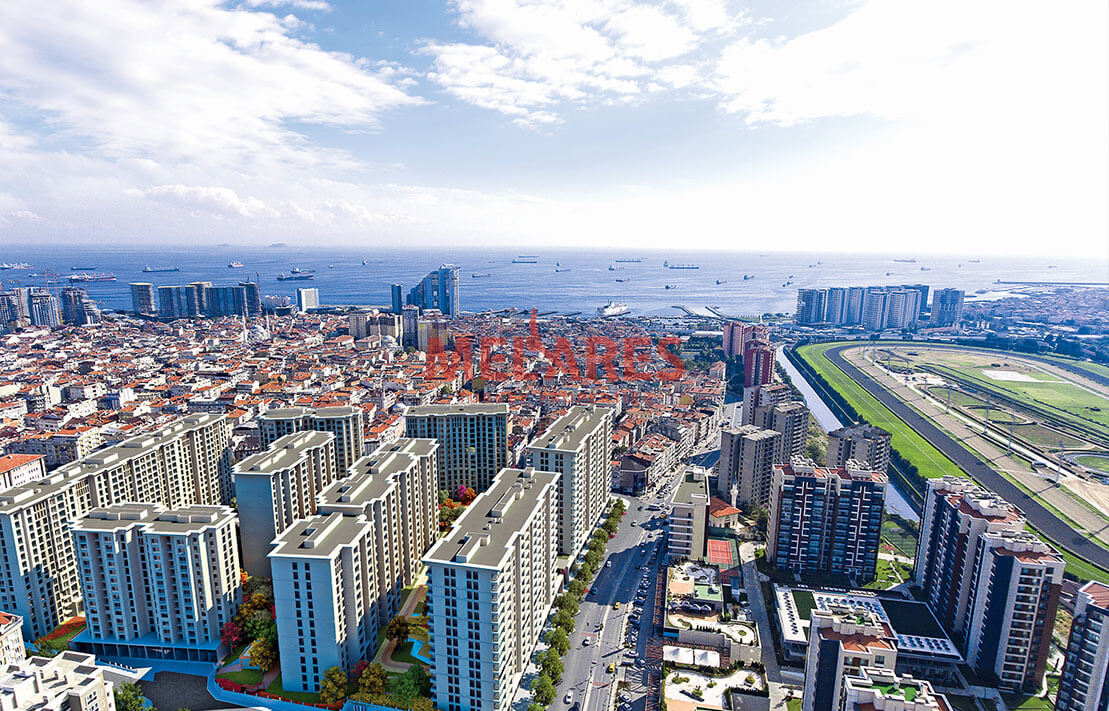 Family-oriented Sea View Apartments for Sale in Istanbul