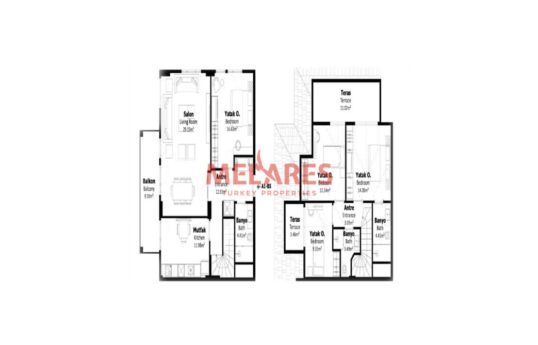 Buy House Within Walking Distance to Metro Station in Istanbul