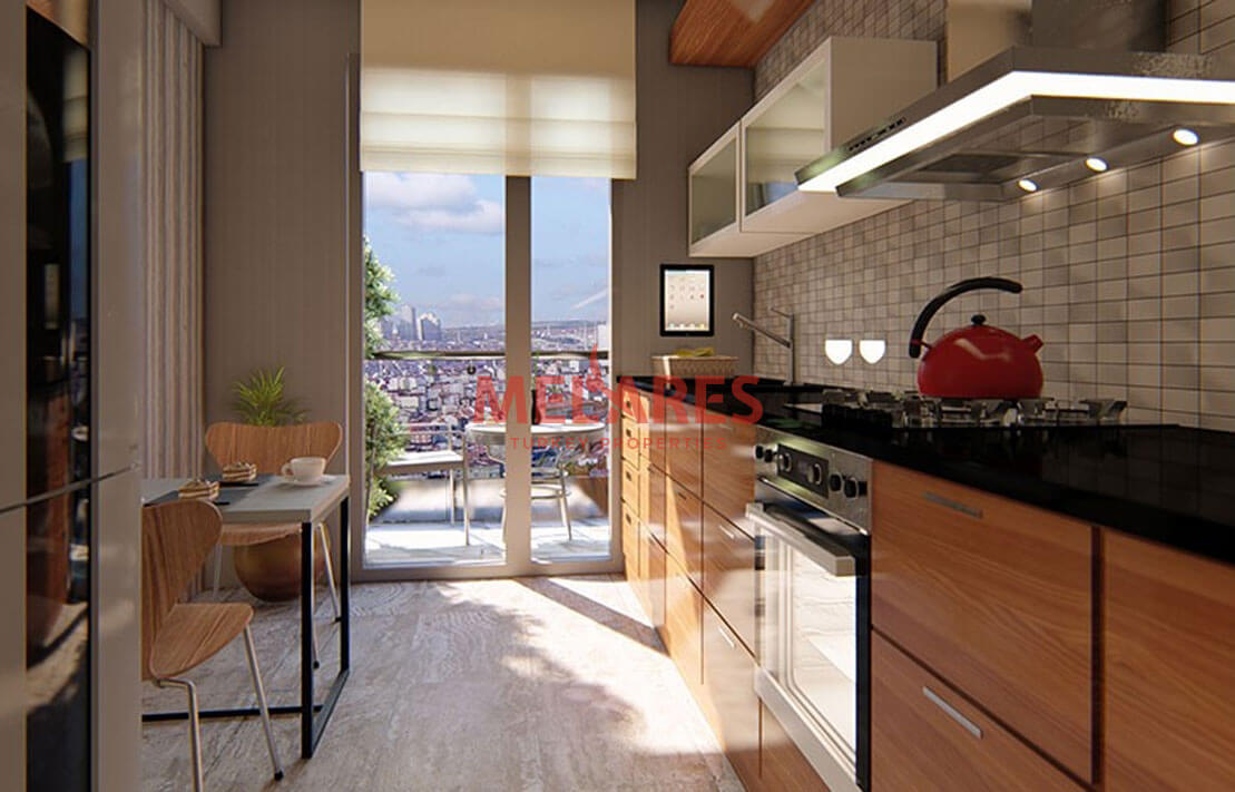 Luxury Apartments for Sale Near to the All Bridges of Istanbul