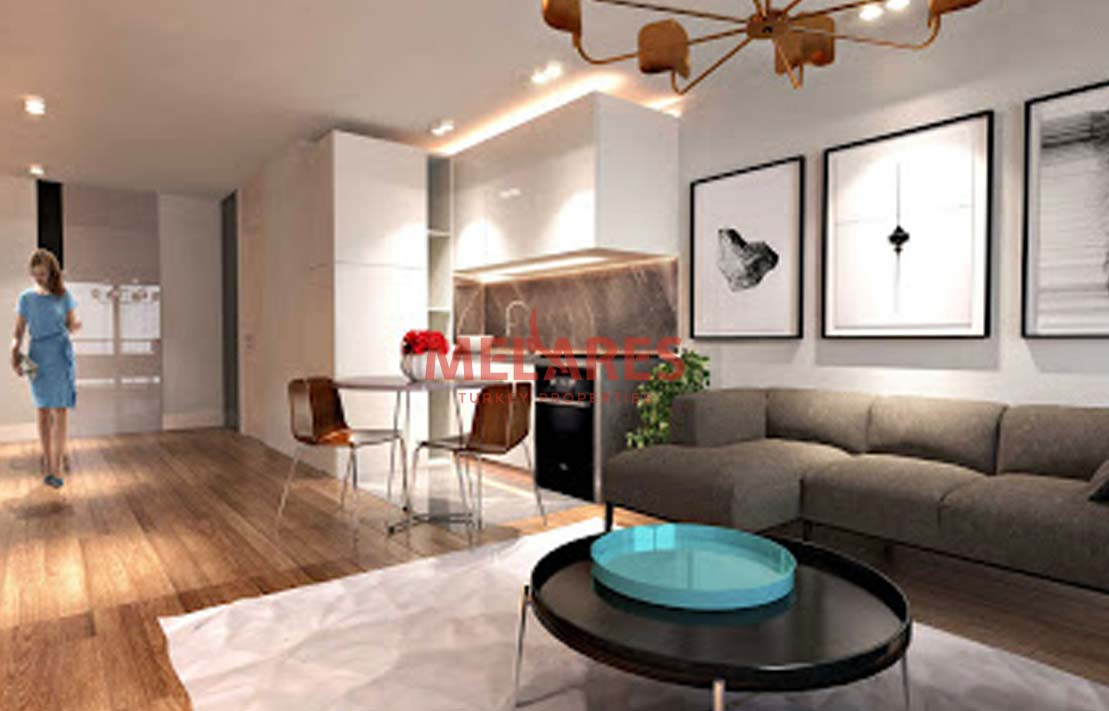 Amazing Two Bedrooms Duplex Apt for Sale in Instanbul