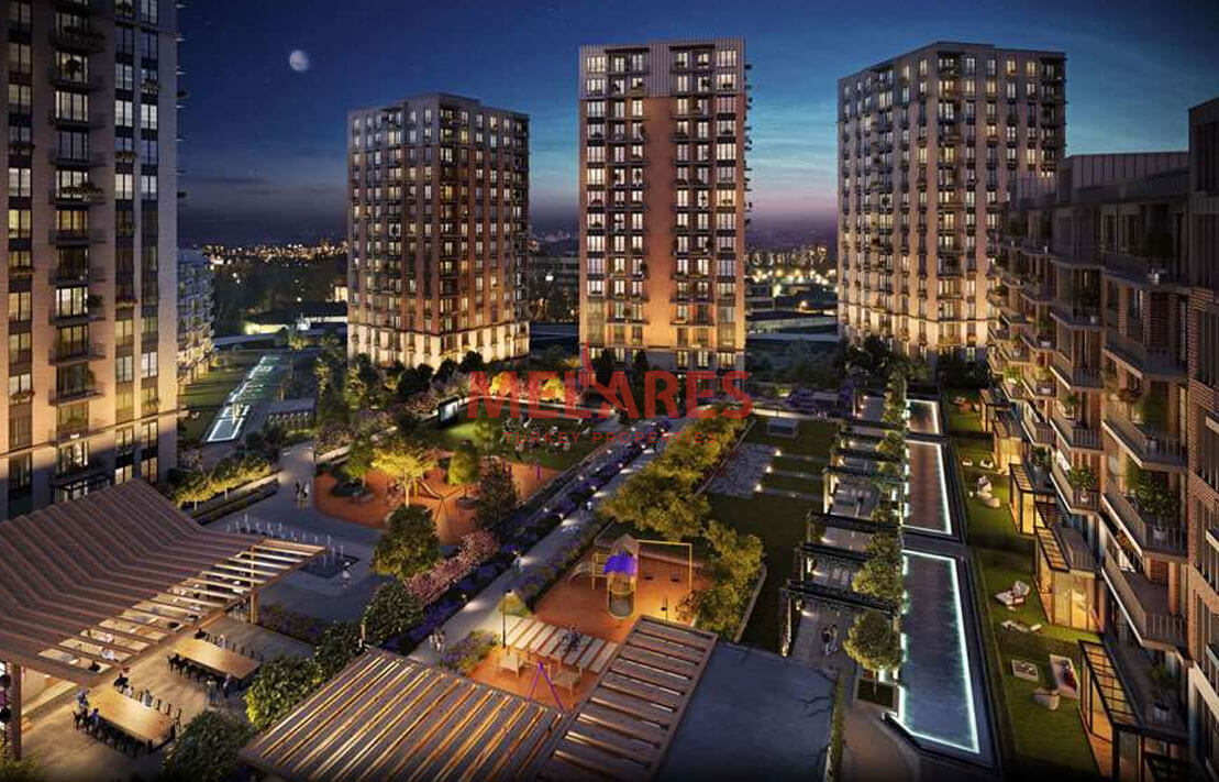 Family-oriented Apartment for Sale Offering Citizenship of Turkey