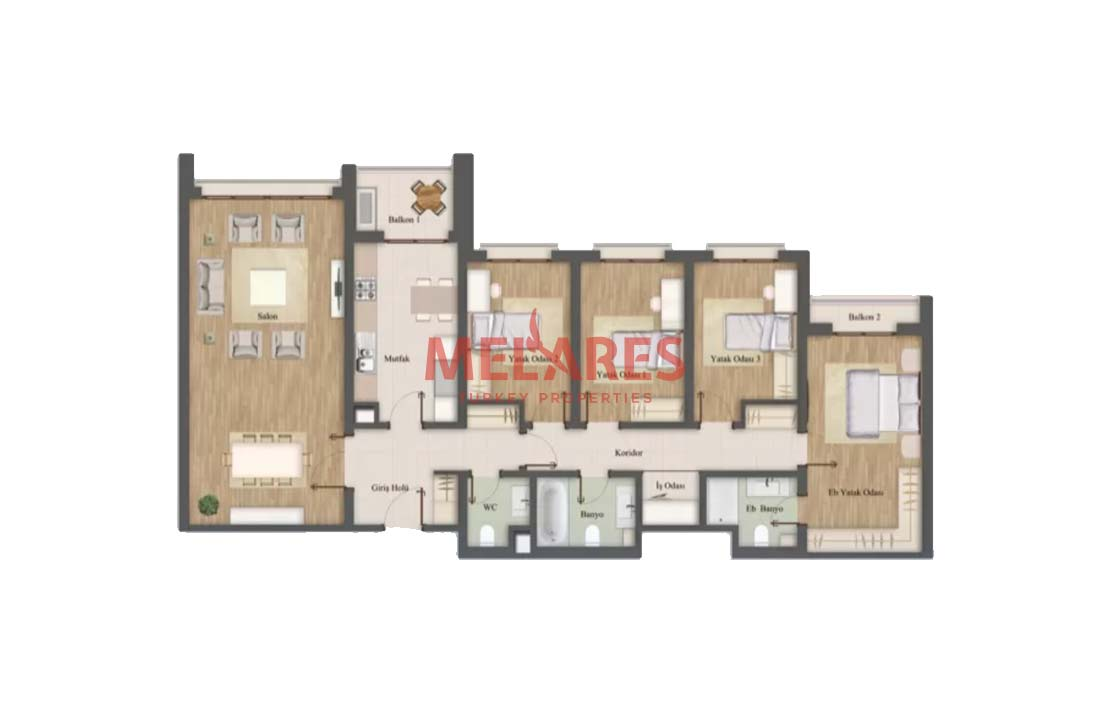Real Estate With Contemporary Design For Sale in Turkey