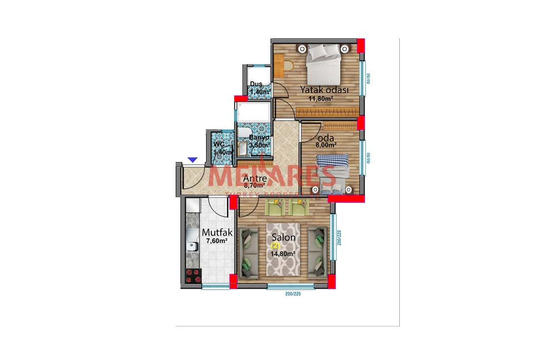 Property for Sale in Istanbul Close to the TEM Road in Bagcilar