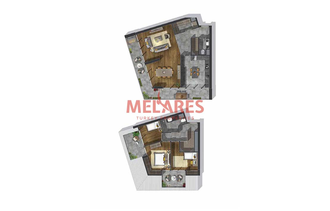 5-Stars Hotel Concept at Luxury Real Estate Istanbul